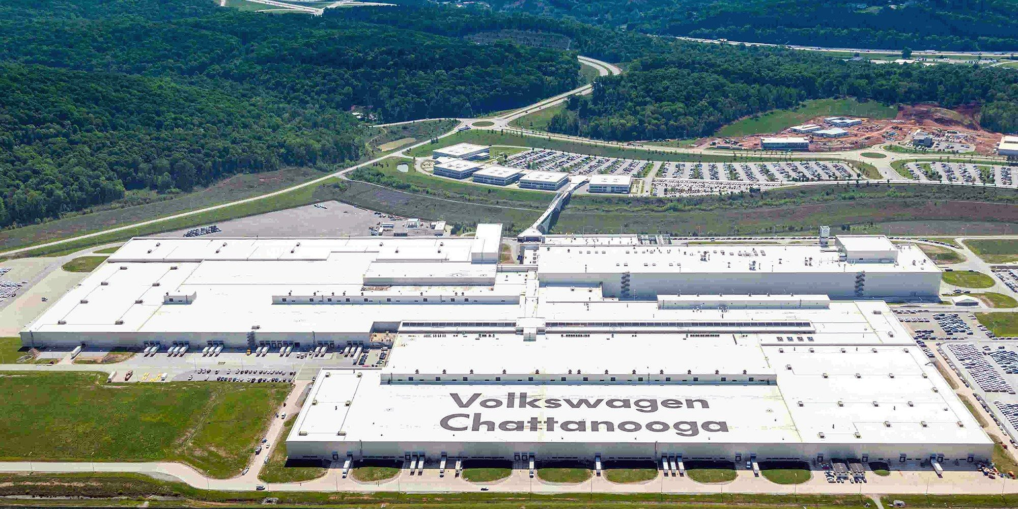 "VW breaks ground on massive Tennessee EV plant, dubbed a ""magic moment"" by CEO"